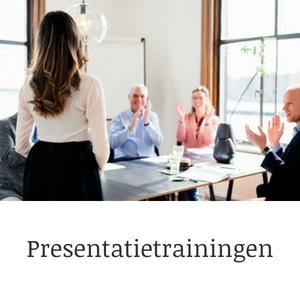 Presentatietrainingen